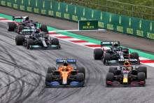Why the FIA penalised Norris and Perez in F1 Austrian GP