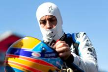 Fernando Alonso (ESP) Alpine F1 Team on the grid.