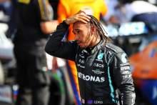 Race winner Lewis Hamilton (GBR) Mercedes AMG F1 in parc ferme.