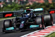 Bottas leads Mercedes 1-2 ahead of Verstappen in Hungary F1 FP2