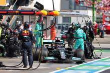 Wolff: Not pitting Hamilton for dry F1 tyres 'absolutely the right decision'