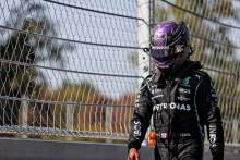 Lewis Hamilton (GBR) Mercedes AMG F1 retired from the race.