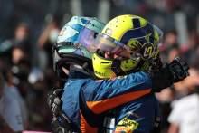 """诺里斯为里卡多感到""""高兴"""",尽管他错过了在蒙扎的F1首胜"""