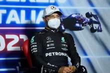 Valtteri Bottas (FIN) Mercedes AMG F1 in the post race FIA Press Conference.
