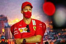 Vettel doesn't fear F1 mid-season drop despite struggles