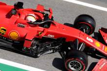 """Vettel in a """"better place"""" after Friday F1 practice in Spain"""