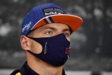 Verstappen: Red Bull F1 'overachieving' by splitting two Mercedes