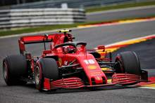 """Leclerc 'surprised' to be """"so far back"""" in Belgian F1 GP"""