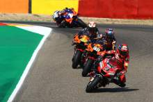 Danilo Petrucci , MotoGP race, Aragon MotoGP. 18 October 2020