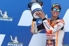 Alex Marquez , MotoGP race, Aragon MotoGP. 18 October 2020