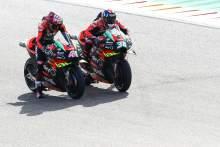 Aprilia 'tutup, perlu melakukan langkah terakhir' di MotoGP