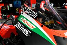 Fausto Gresini tribute on the Aprilia bike, MotoGP, Qatar MotoGP test, 5 March 2021