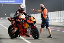 Brad Binder, Qatar MotoGP test, 12 March 2021