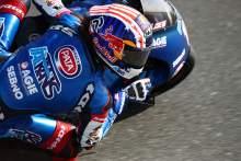 Joe Roberts, Qatar Moto2 test, 21 March 2021