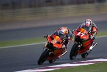 Jaume Masia Pedro Acosta Qatar Moto3 Test, 21 March 2021