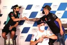 Valentino Rossi, Fabio Quartararo Qatar MotoGP, 25 March 2021