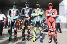 Luca Marini, Valentino Rossi, Franco Morbidelli, Francesco Bagnaia, MotoGP, Qartar MotoGP 25 March 2021