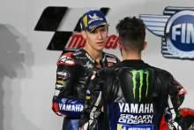 Fabio Quartararo, Maverick Vinales, MotoGP, Qatar MotoGP 27 March 2021