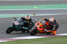 Jaume Masia, Darryn Binder, Moto3 race, Qatar MotoGP 28 March 2021