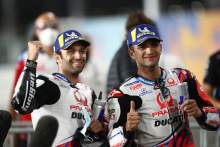 Johann Zarco, Jorge Martin parc ferme, Doha MotoGP, 3 April 2021