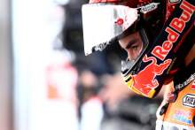 Marc Marquez ready to 'suffer' in the race, defends Suzuki tow tactics
