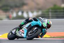 Morbidelli: 'big group of riders' at the front, has the pace for podium