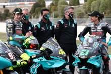 Valentino Rossi , Wilco Zeelenberg, Razlan Razali, Johan Stigefelt, Spanish MotoGP, 29 April 2021