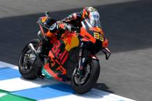 Jerez MotoGP Test: Brad Binder: 'Whatever it was, it worked great!'