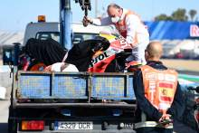 Marc Marquez, bike after crash,, MotoGP, Spanish MotoGP 1 May 2021