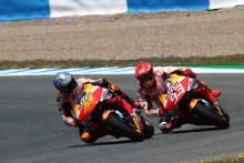 Pol Espargaro Marc Marquez Spanish MotoGP, 1 May 2021
