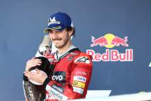 'Happy to be world championship leader' thinking 'race by race' - Bagnaia
