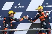 Raul Fernandez, Remy Gardner, Moto2 race, French MotoGP, 16 May 2021