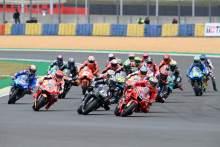 Jack Miller race start, French MotoGP, 16 May 2021