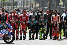 Bagnaia: 'Not correct to race' after Dupasquier tragedy