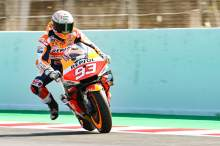 Marc Marquez, Braking, MotoGP, Catalunya MotoGP 5 June 2021