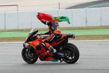 Oliveira holds off Zarco for Catalunya win, Quartararo loses podium to Miller