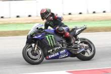 Fabio Quartararo MotoGp Race,Catalunya MotoGP。2021年6月6日