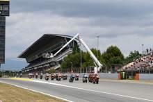 比赛开始,Moto2种族,Catalunya MotoGP 6月2021 6日