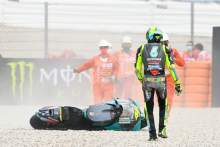 Rossi 'expected a lot more', turn ten crash a 'great shame'
