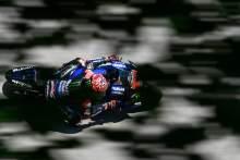 Fabio Quartararo fastest in crash heavy FP3 session