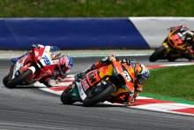 Raul Fernandez, Moto2 race, Austrian MotoGP, 15 August 2021
