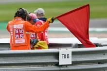 Red flag, British MotoGP, 27 August 2021
