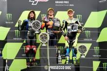 British Moto2: Gardner grabs victory as Fernandez falls