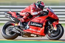 Francesco Bagnaia, Aragon MotoGP, 11 September 2021