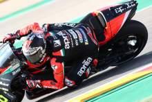 Vinales 'not setting goals' for second Aprilia race
