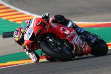 Martin: In general I felt super good on the bike, but not happy about result
