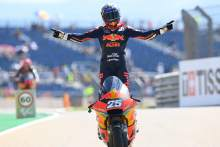 Raul Fernandez, Moto2 race, Aragon MotoGP, 12 September 2021