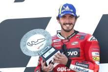 Francesco Bagnaia MotoGP race, Aragon MotoGP, 12 September 2021