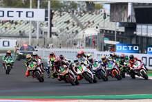 Jordi Torres race start, MotoE race, San Marino MotoGP, 18 September 2021