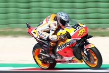 Misano MotoGP Test Results - Wednesday lap times (11am)